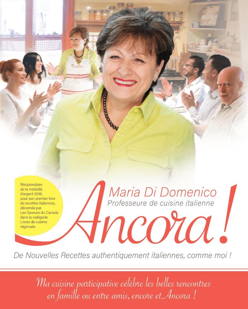 Livre De Recettes Maria Di Domenico Fine Cuisine Italienne